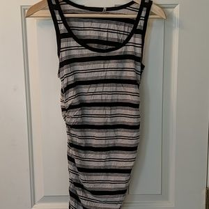 Caslon ruched tank top